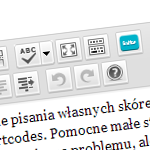 WordPress – własny przycisk w wizualnym edytorze
