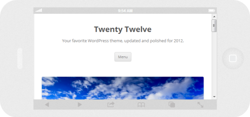 Twenty Twelve naiPhone 5