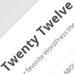 Twenty Twelve – motyw WordPress na rok 2012