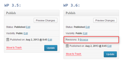 """Sekcja """"Opublikuj"""" - porównanie wersji 3.5 i3.6"""