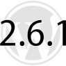 WordPress 2.6.1